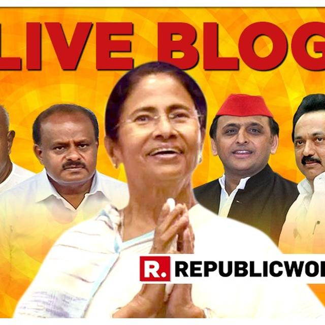 MAMATA BANERJEE'S MEGA OPPOSITION RALLY: LIVE UPDATES