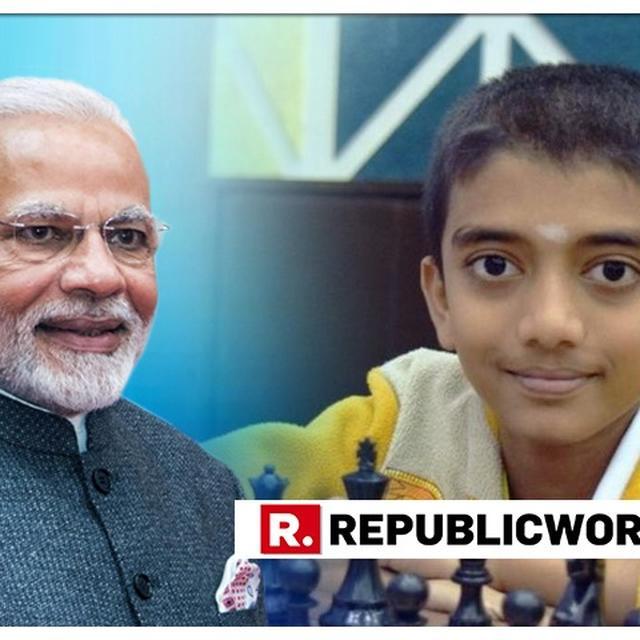 'THE CHAMPION OF CHESS': PM MODI CONGRATULATES INDIA'S YOUNGEST EVER GRANDMASTER D GUKESH