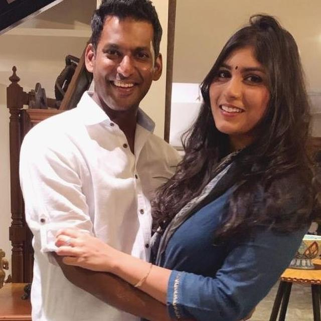 VISHAL'S FIANCÉ ANISHA ALLA REDDY HITS BACK AT A TROLL WHO CLAIMS THAT SHE 'BOUGHT HIM WITH MONEY'