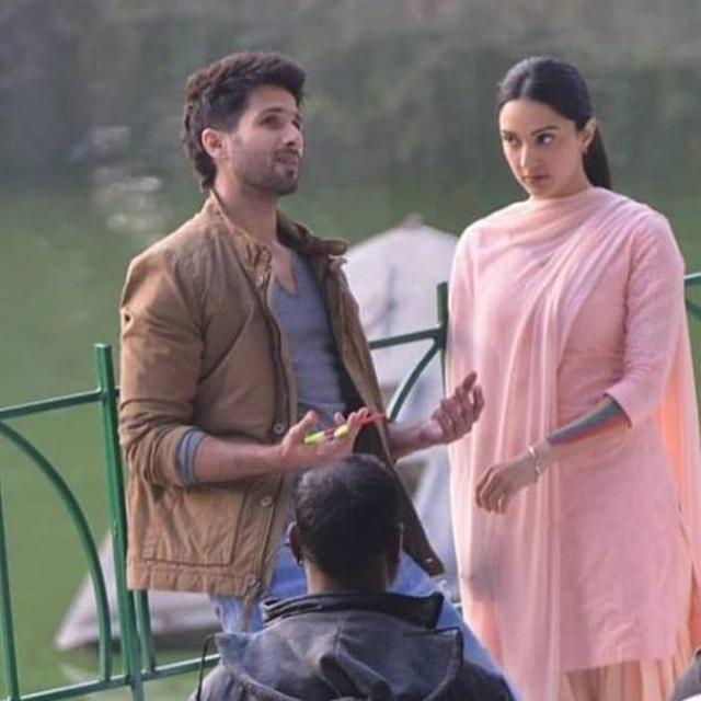 SHAHID KAPOOR AND KIARA ADVANI TRANSFORM INTO 'KABIR SINGH' AND PREETHI IN THESE NEW STILLS FROM THE FILM