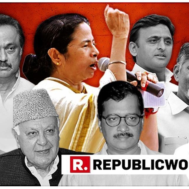 "WATCH: ""MODI HATAO, BJP HATAO,"" CHANTED WEST BENGAL CM MAMATA BANERJEE LEADING THE UNITED INDIA RALLY IN KOLKATA"