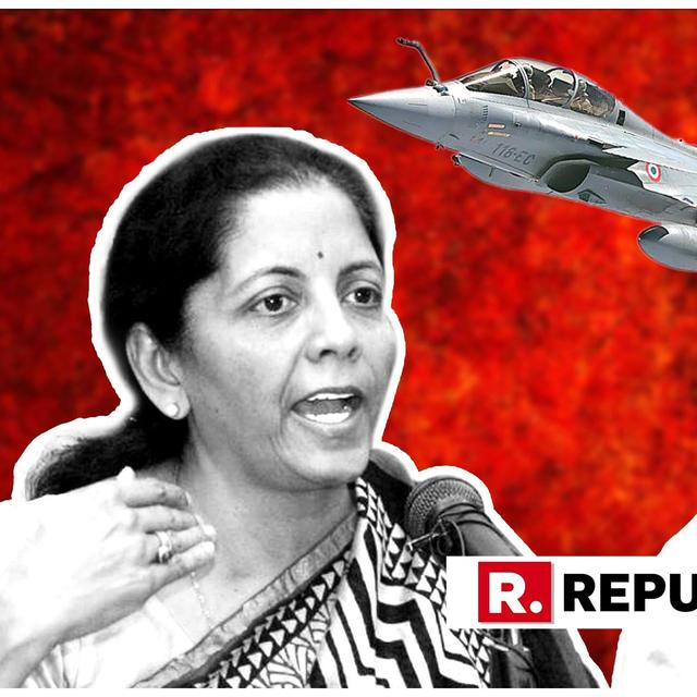 'DON'T MISLEAD PEOPLE': RAKSHA MANTRI NIRMALA SITHARAMAN DARES RAHUL GANDHI FOR DEBATE ON RAFALE DEAL