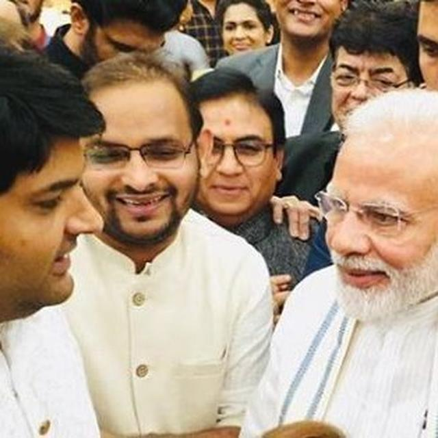 'YOU HAVE A GREAT SENSE OF HUMOUR', SAYS COMEDIAN KAPIL SHARMA AFTER MEETING PM NARENDRA MODI