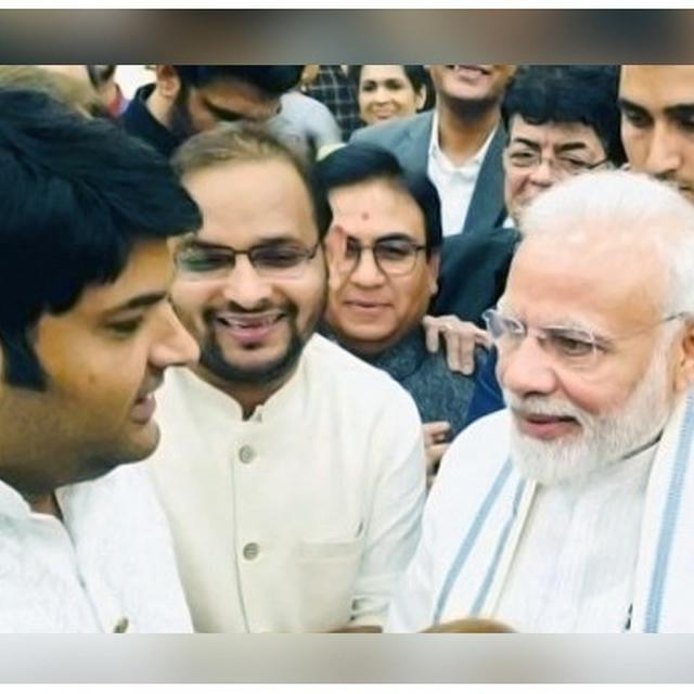 'I AM NO EXCEPTION': HERE'S HOW COMEDIAN KAPIL SHARMA MADE PM NARENDRA MODI HAPPY