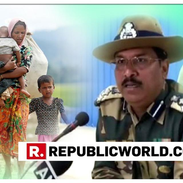 BANGLADESH SECURITY FORCES 'PUSHED' ROHINGYA REFUGEES INTO INDIAN TERRITORY: BSF