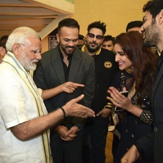 PARINEETI CHOPRA SAYS SHE IS 'HONOURED' TO MEET PM MODI AT THE INAUGURATION EVENT OF THE NATIONAL MUSEUM OF INDIAN CINEMA