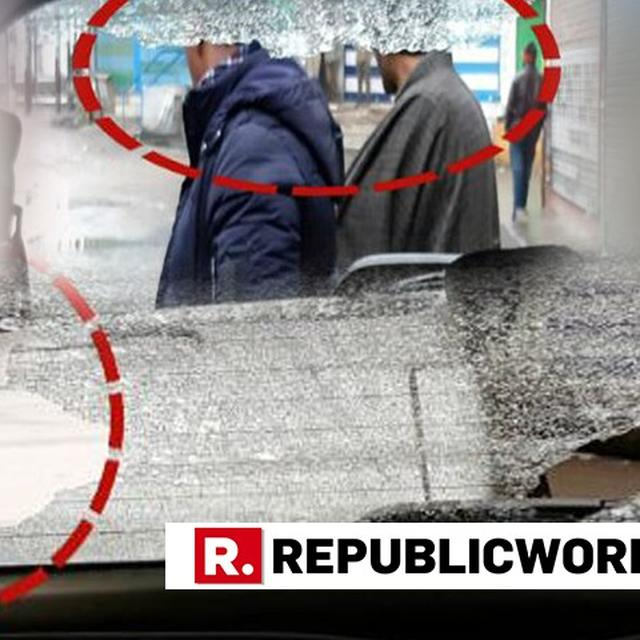WATCH: REPUBLIC CREW ATTACKED BY STONE PELTERS IN BUDGAM, KASHMIR