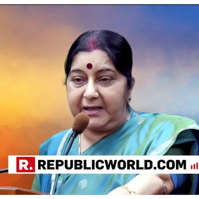 COUNTRIES LIKE US, JAPAN, CHINA AGEING, INDIA GETTING YOUNGER: SWARAJ