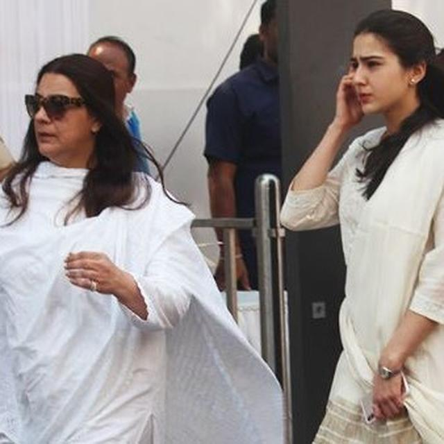 AMRITA SINGH, SARA ALI KHAN EMBROILED IN ROW OVER SPRAWLING PROPERTY IN DEHRADUN AFTER RELATIVE'S DEATH