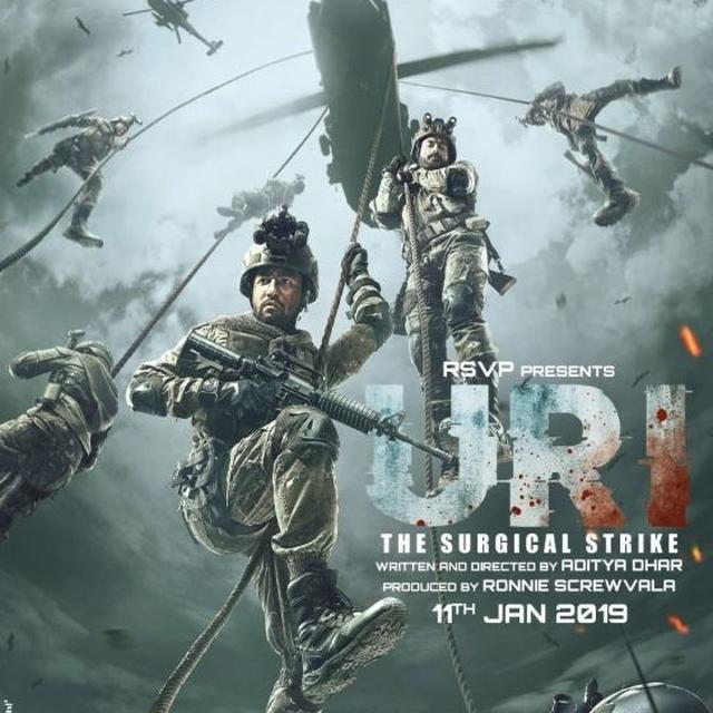 'URI: THE SURGICAL STRIKE' IS A SMASH-HIT OVERSEAS, MINTS OVER 3 MILLION DOLLARS BY THE END OF THE SECOND WEEK