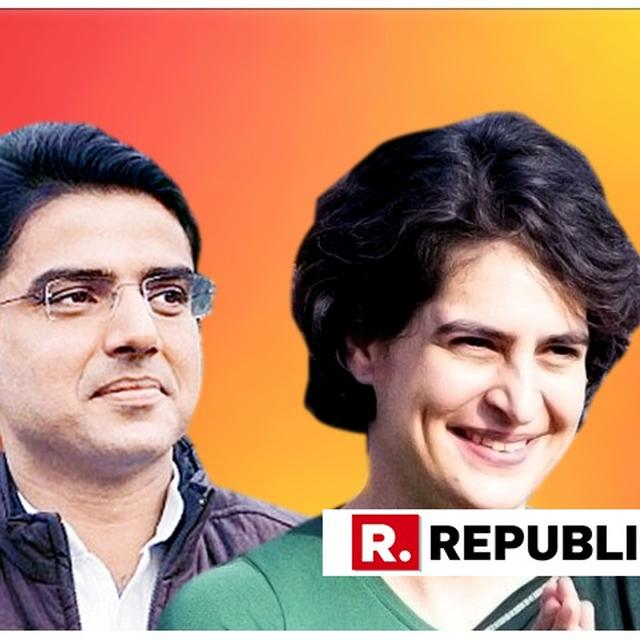 """SACHIN PILOT REACTS TO PRIYANKA GANDHI-VADRA'S APPOINTMENT AS UP GEN SECY, SAYS """"MOVE WILL STRENGTHEN CONGRESS NOT ONLY IN STATE BUT ALSO IN ENTIRE INDIA"""""""