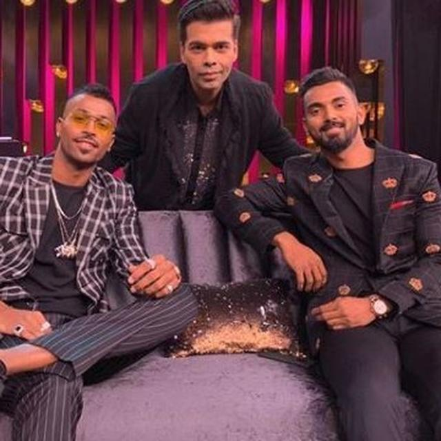 KARAN JOHAR'S REACTION ON HARDIK PANDYA-KL RAHUL CONTROVERSY LEAVES NETIZENS UNIMPRESSED, READ HERE