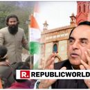 WATCH: SWAMY DEMANDS HRD MINISTRY'S INTERVENTION IN AMU TIRANGA RALLY CONTROVERSY