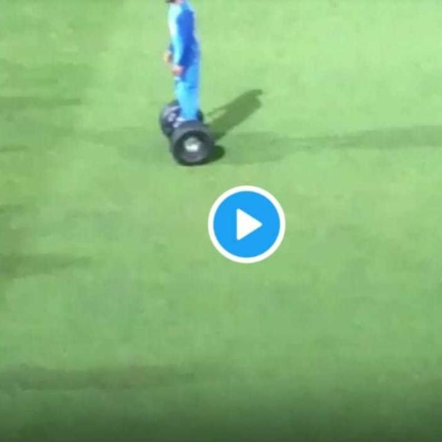 VIRAL: MS DHONI AND VIRAT KOHLI SCOOT AROUND THE OUTFIELD IN NEW ZEALAND IN FUN 'POST-GAME SHENANIGANS'