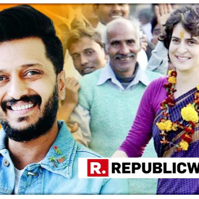 AS PRIYANKA GANDHI JOINS CONGRESS, RITEISH DESHMUKH RECOUNTS STORY OF MEETING HER, GIVES HIS VERDICT ON HER POLITICAL ENTRY