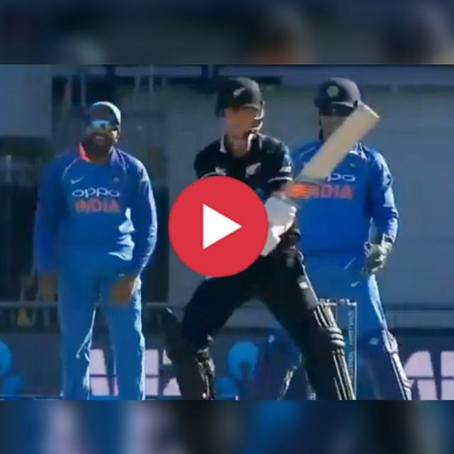 WATCH: ROHIT CAN'T STOP LAUGHING ON THIS HILARIOUS DEFENSIVE SHOT BY BOULT