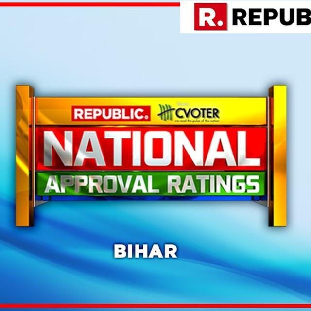 NATIONAL APPROVAL RATINGS: IN BIHAR, BJP-JD(U)-LJP ALLIANCE PROJECTED TO WIN BIG AS CONG-RJD LIKELY TO LAG BEHIND