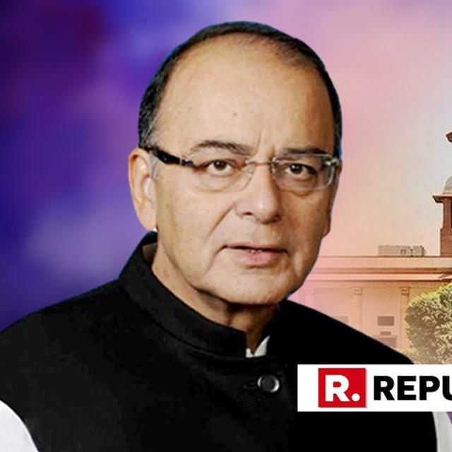 """""""BANK DEFAULTERS CANNOT GET AWAY FOR LONG,"""" SAYS ARUN JAITLEY HAILING THE VERDICT AS SC UPHOLDS INSOLVENCY CODE, SAYS DEFAULTERS' PARADISE IS LOST"""