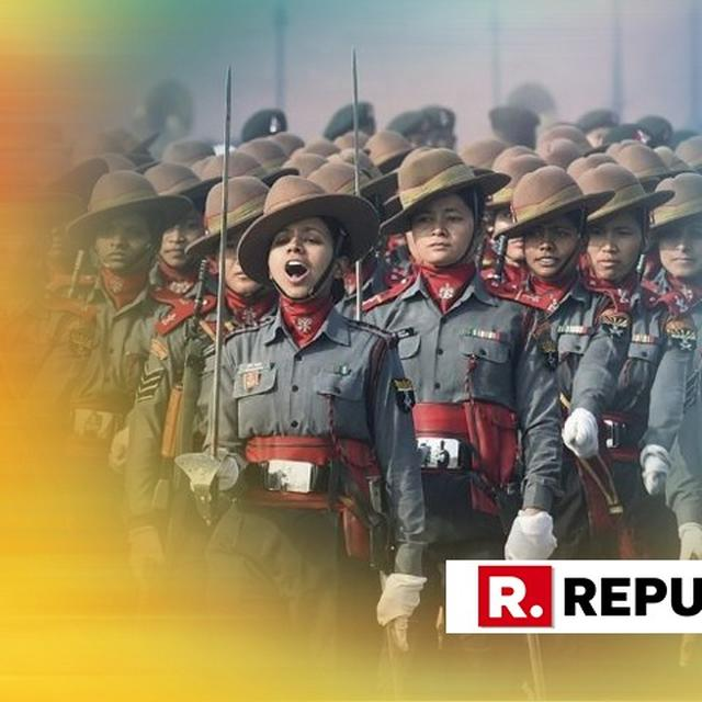 REPUBLIC DAY 2019: WOMEN ENGRAVE THEIR NAMES IN HISTORY, LEAD FROM THE FRONT AT REPUBLIC DAY PARADE