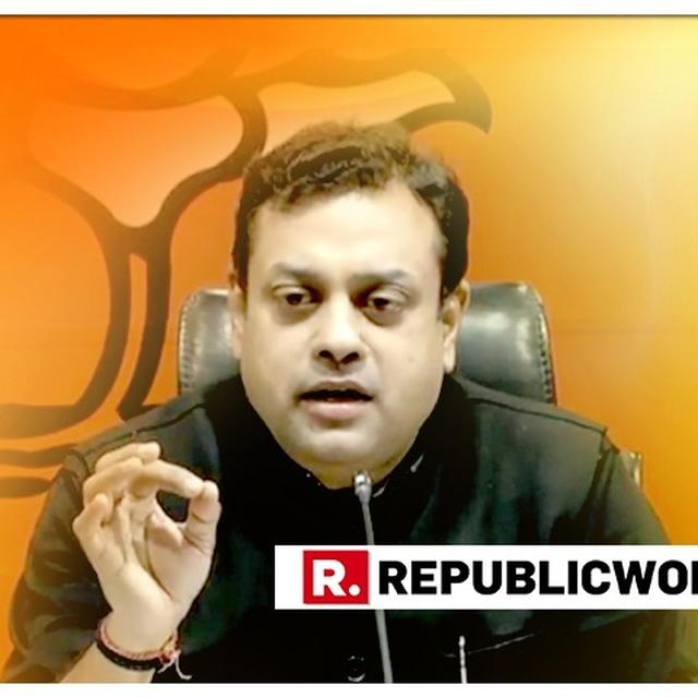 CONGRESS THREATENING OFFICIALS TO STOP WORKING AGAINST CORRUPTION: SAMBIT PATRA