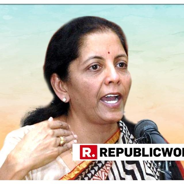 UNFORTUNATE THAT SOME STATES HAVE OPTED OUT OF 'MODICARE' DUE TO POLITICS: SITHARAMAN