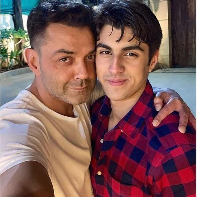 'YOUR SON IS DITTO LIKE HIS DADAJI DHARMENDER SIR': NETIZENS GUSH OVER BOBBY DEOL'S LATEST CLICK WITH SON