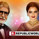 VIRAL: WATCH REKHA'S HILARIOUS REACTION AFTER REALISING THAT SHE IS POSING NEXT TO AMITABH BACHCHAN'S PHOTO