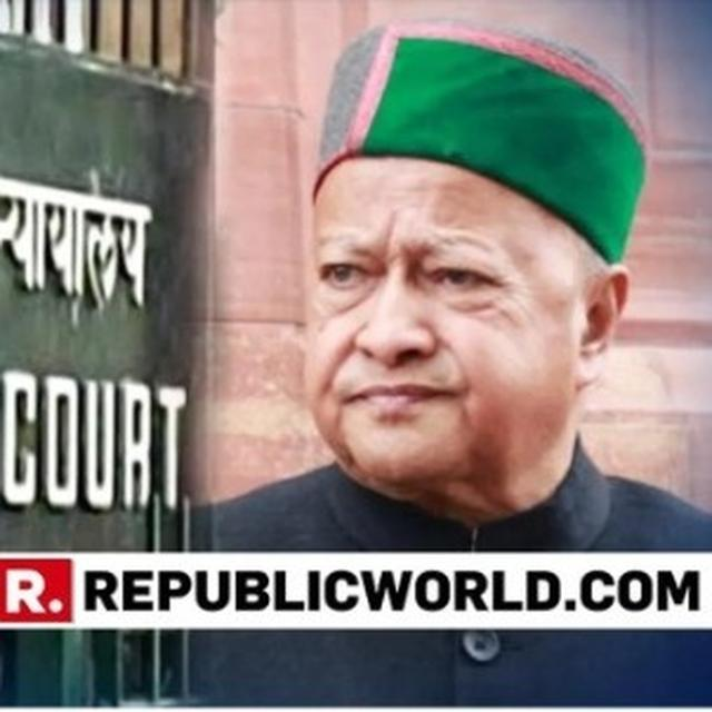 ANOTHER HC JUDGE RECUSES FROM HEARING PLEA OF VIRBHADRA SINGH, HIS WIFE IN DA CASE