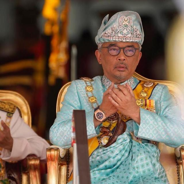 MALAYSIA ENTHRONES NEW KING SULTAN ABDULLAH SULTAN AHMAD SHAH AFTER HISTORIC ABDICATION