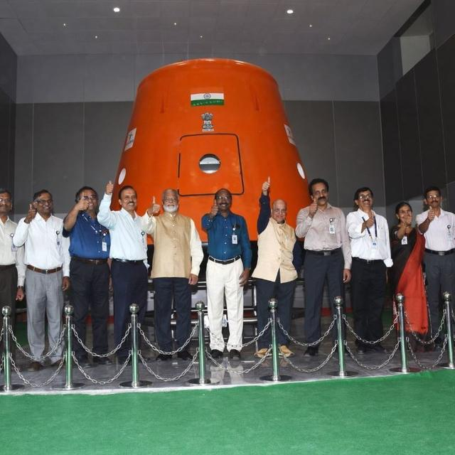ISRO UNVEILS HUMAN SPACE FLIGHT CENTRE IN BENGALURU FOR MAIDEN MANNED MISSION