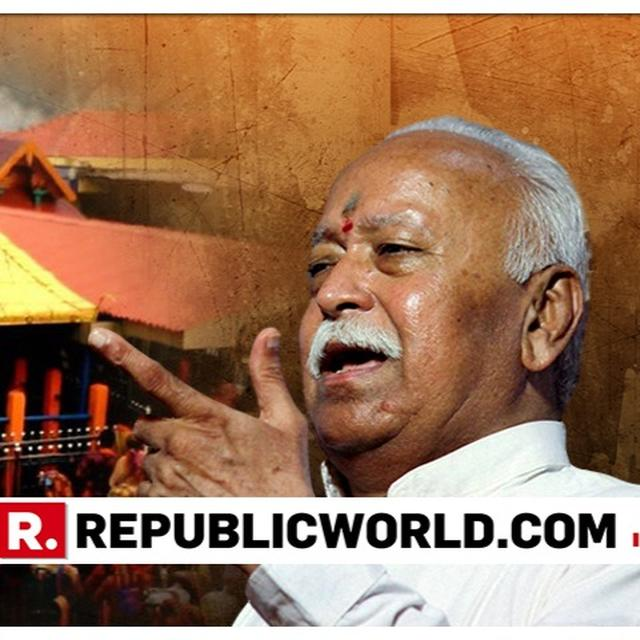 KERALA GOVT OPPRESSING SABARIMALA DEVOTEES, SAYS RSS CHIEF AT VHP MEET
