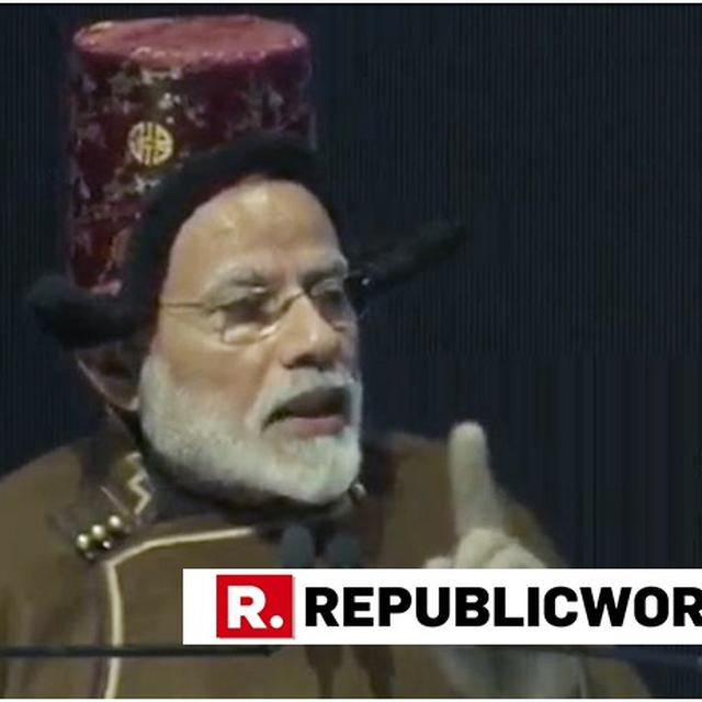 """""""THE LIVES OF PEOPLE IN LEH INSPIRE ME TO WORK HARD FOR THEM,"""" SAYS PM MODI"""