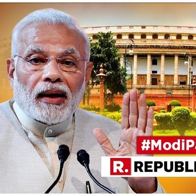"MUST WATCH: PM MODI'S BEFORE CONGRESS-AFTER DYNASTY ""BC\AD"" ATTACK AT THE CONGRESS"