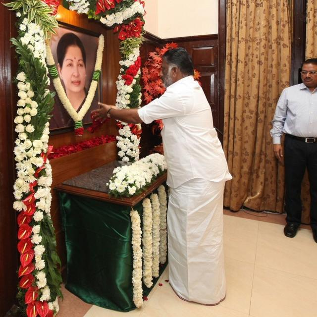 JAYALALITHAA CONTINUES TO BE GUIDING BEACON: SAYS PANNEERSELVAM
