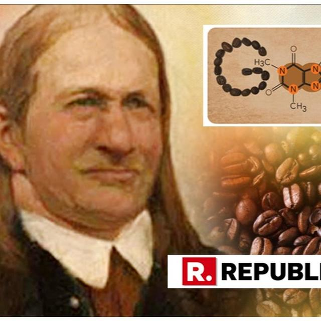 GOOGLE DOODLE RAISES A CUP OF JOE TO FRIEDLIEB FERDINAND RUNGE, THE MAN WHO DISCOVERED CAFFEINE