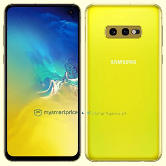 THIS IS YOUR BEST LOOK YET AT SAMSUNG'S CANARY YELLOW GALAXY S10E