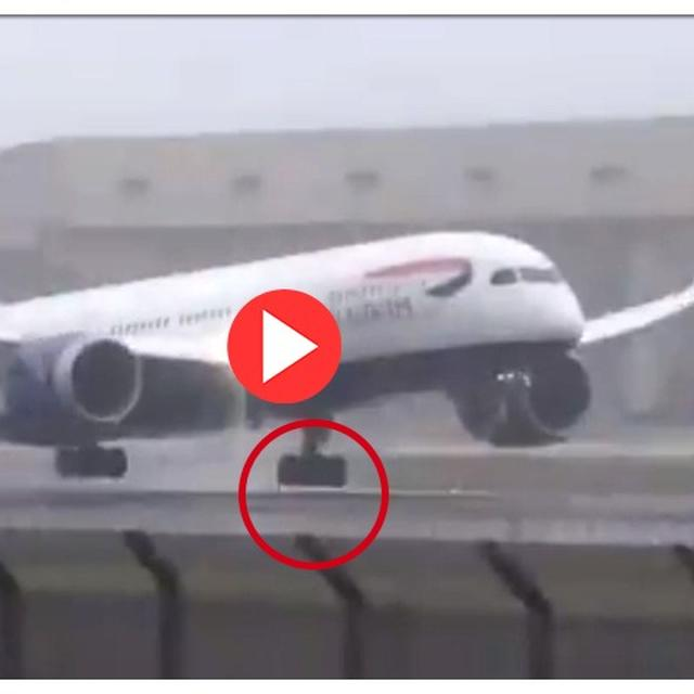 WATCH: HYDERABAD-LONDON FLIGHT BOUNCES WHILE LANDING. HERE'S HOW PILOT'S LIGHTNING-QUICK REFLEXES AVERTED A DISASTER
