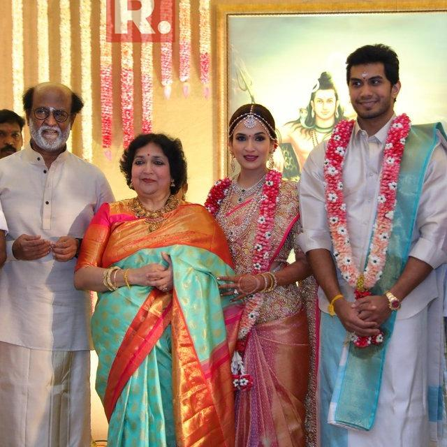WATCH: SOUNDARYA RAJINIKANTH TIES THE KNOT WITH VISHAGAN VANANGAMUDI IN A GRAND TRADITIONAL WEDDING IN CHENNAI