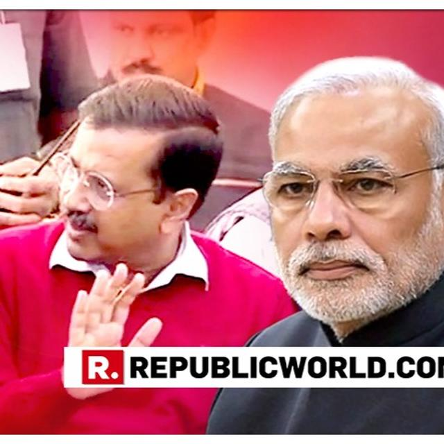 WATCH: HOURS AFTER 'JHOOTHA CUP' PLACARD'S ROLLBACK, ARVIND KEJRIWAL LAUNCHES 'PAKISTAN PRIME MINISTER' ATTACK AT PM MODI FROM CHANDRABABU NAIDU'S PLATFORM