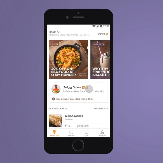 AFTER FOOD DELIVERY, SWIGGY FORAYS INTO ONLINE GROCERY DELIVERY BUSINESS WITH 'SWIGGY STORES'