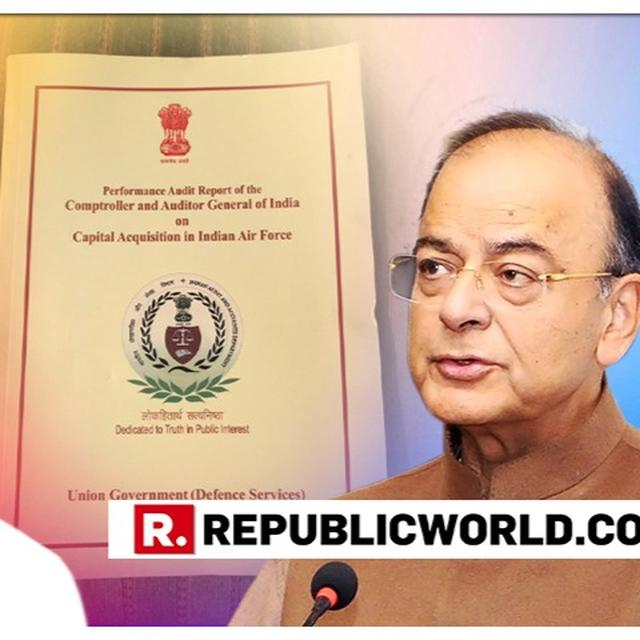 """CAG REPORT HAS BLASTED CONGRESS LIES, 2.86% PRICE GAP COULD HAVE BEEN WIDER"": ARUN JAITLEY SAYS GOVERNMENT STANDS VINDICATED"
