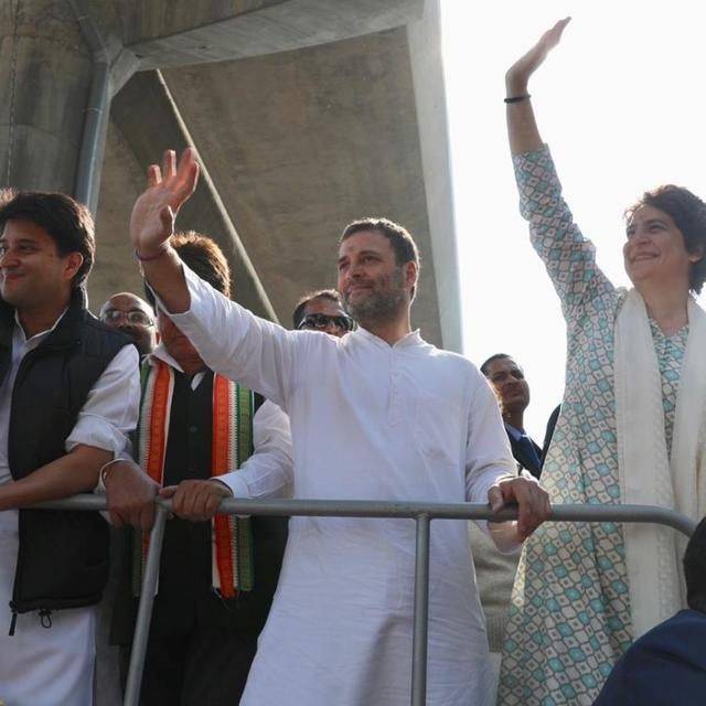 PRIYANKA GANDHI-VADRA ANNOUNCES ALLIANCE WITH LOCAL OUTFIT MAHAN DAL IN U.P