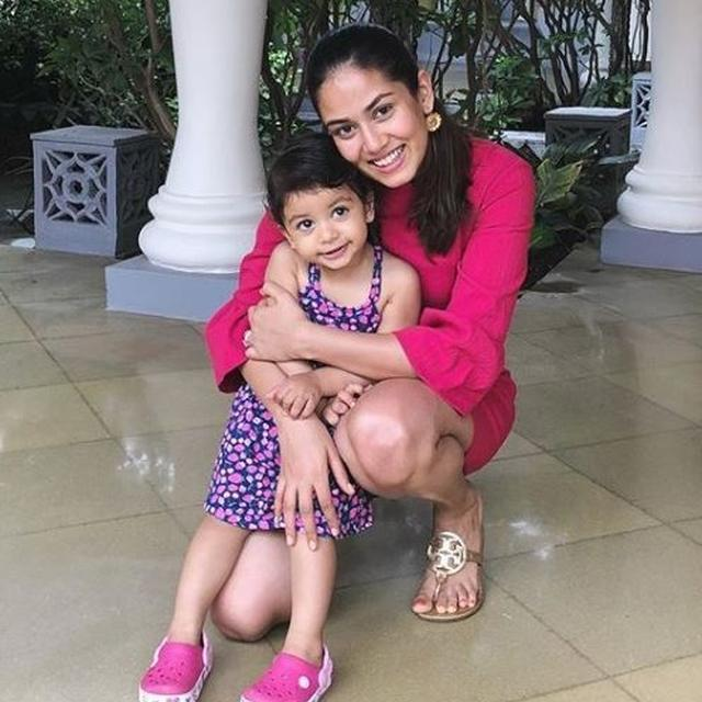 MIRA RAJPUT GETS TROLLED FOR GETTING MISHA'S HAIR COLOURED, RESPONDS TO NAYSAYERS. READ HERE