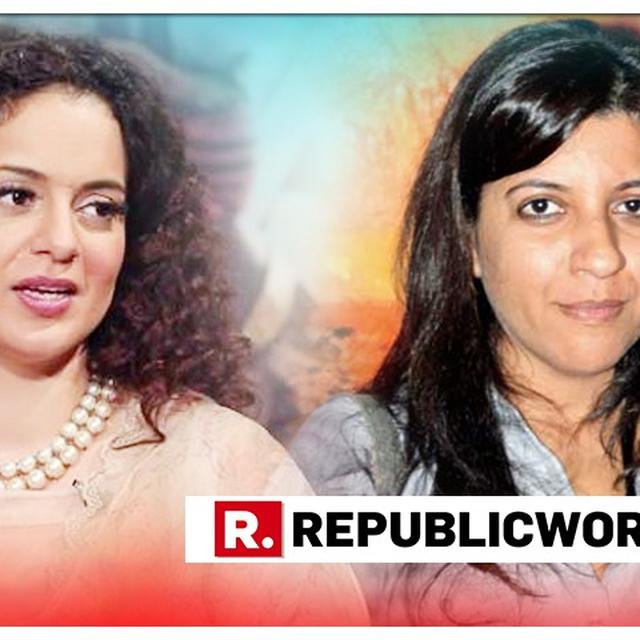 ZOYA AKHTAR SLAMS KANGANA RANAUT FOR CLAIMING THAT SHE DOES NOT RECEIVE SUPPORT FROM THE INDUSTRY, READ HERE