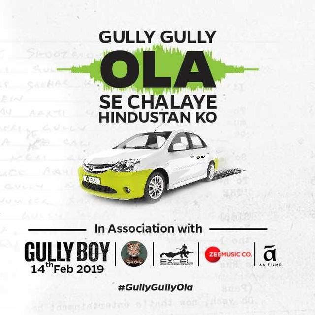 Sponsored: Indians on a rap drive with Ola's #GullyGullyOla Campaign