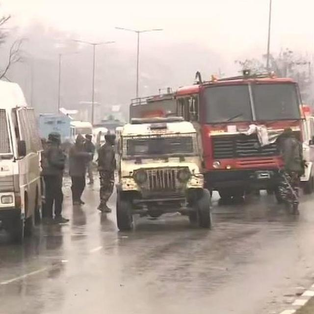 PAKISTAN-BACKED JAISH-E-MOHAMMAD TAKES RESPONSIBILITY FOR COWARDLY TERROR ATTACK ON CRPF CONVOY