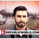 RANVEER SINGH CONDEMNS THE COWARDLY PULWAMA TERROR ATTACK, EXTENDS CONDOLENCES TO THE FAMILIES OF MARTYRED SOLDIERS