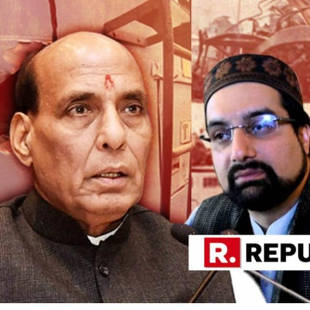 """WATCH: """"SECURITY FOR THOSE ELEMENTS WHO TAKE MONEY FROM PAKISTAN AND ISI SHOULD BE REMOVED"""", WARNS HOME MINISTER RAJNATH SINGH FOLLOWING PULWAMA TERROR ATTACK"""
