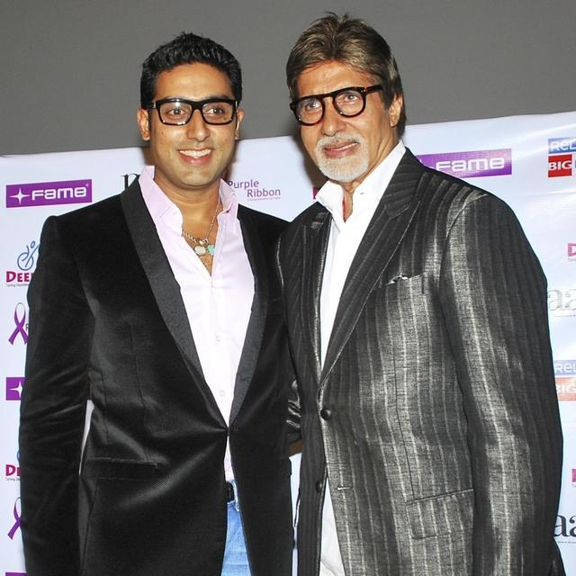 AS AMITABH BACHCHAN COMPLETES 50 YEARS IN BOLLYWOOD SON ABHISHEK CELEBRATES HIS PASSION AND LOVE FOR ACTING