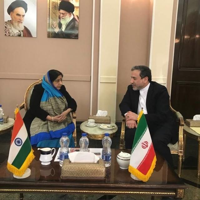 """""""ENOUGH IS ENOUGH"""", SAYS IRAN'S DY FOREIGN MINISTERSEYED ABBAS ARAGCHCHI TO MEA SUSHMA SWARAJ ON TERRORISM"""